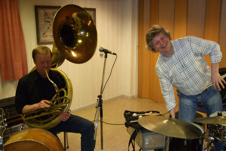 Caledonien Jazzband 16. april 2008