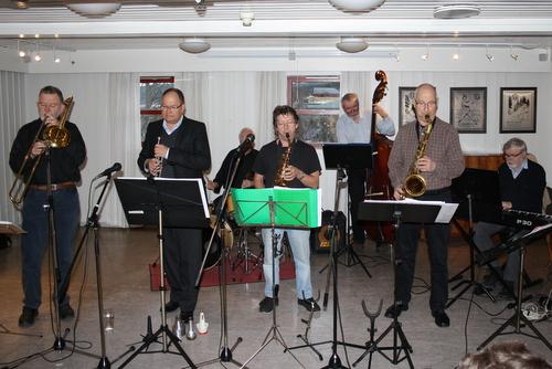 Konsert med Per Borthen Swing Department 17. april 2013