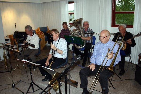Konsert med Nitedalens Jazzband 29. mai 2013