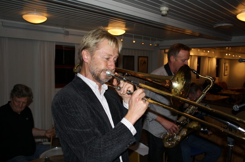 Konsert med Caledonia Jazzband 30. oktober 2013