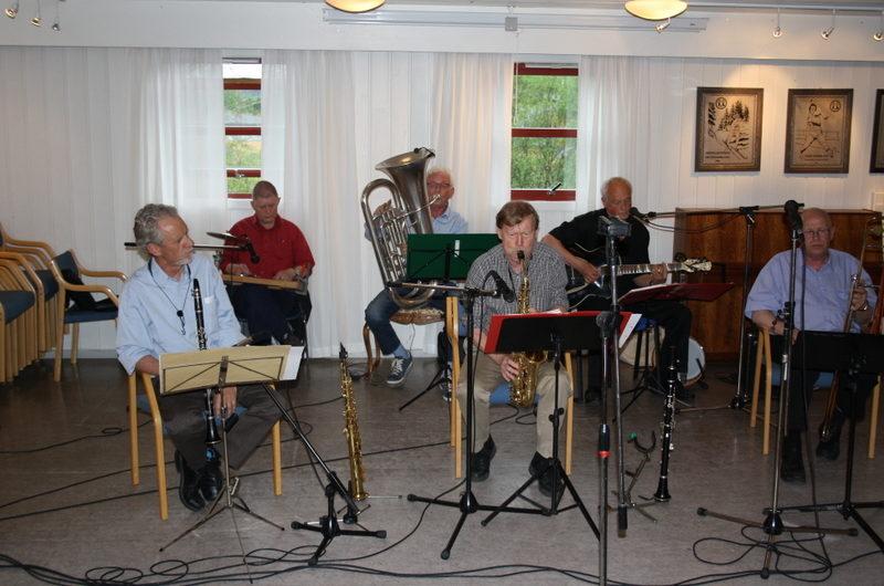 Konsert med Nitedalens Jazzband 21. mai 2014