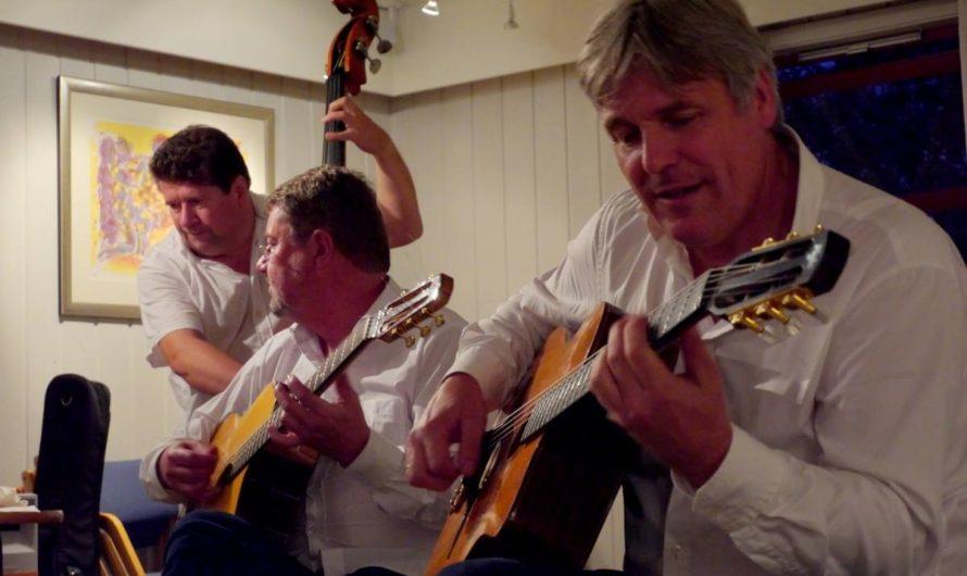 Konsert med Hot Club de Norvége 27. august 2014