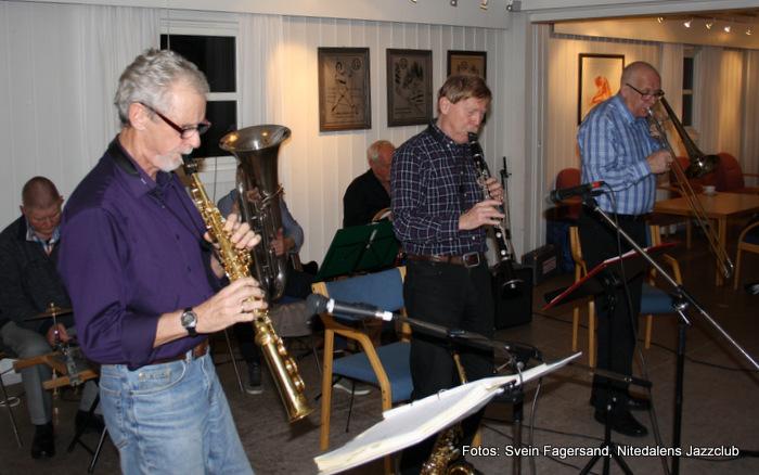 Konsert med Nitedalens Jazzband 28. oktober 2015