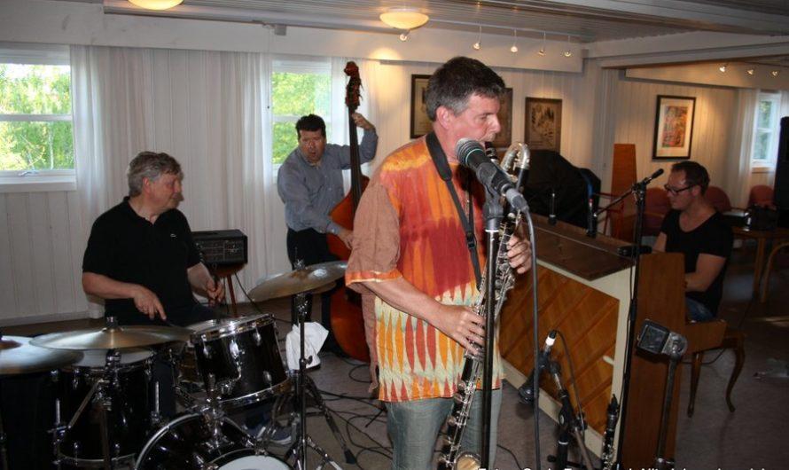 Konsert med Carl Petter Opsahl kvartett 25. mai 2016