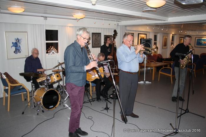 Konsert med Christiania Jazzband 30. november 2016