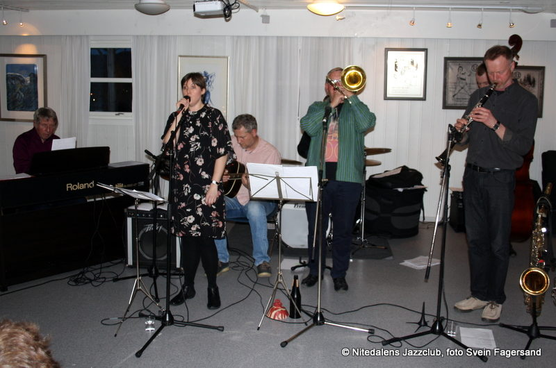 Konsert med Marietta Jazz Band 19. april 2017