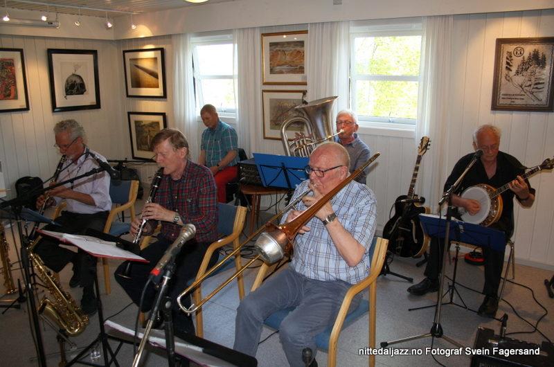 Konsert med Nitedalens Jazzband 31. mai 2017