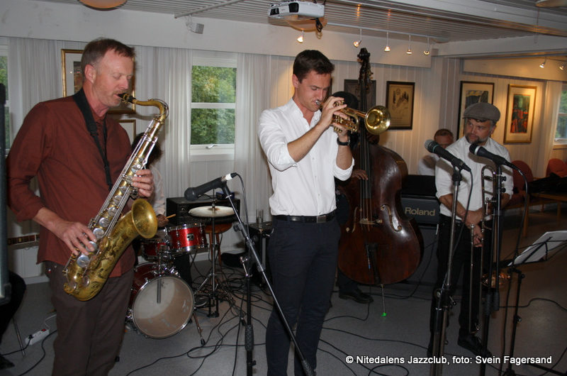 Konsert med Shoeshine Boys 30. august 2017