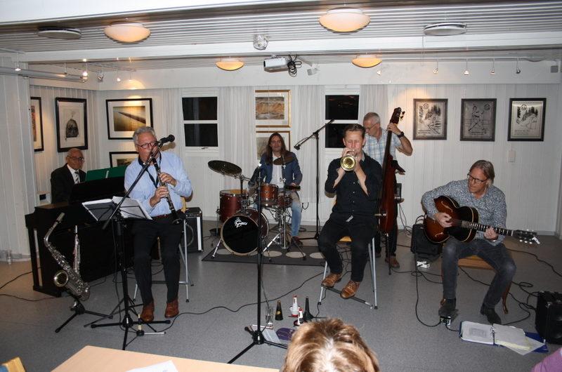 Konsert med JazzMazzørene 27. september 2017